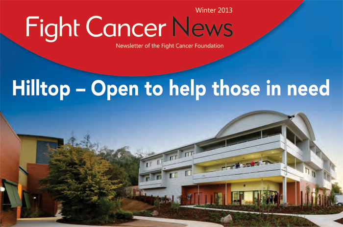Fight Cancer Foundation Winter 2013 Newsletter